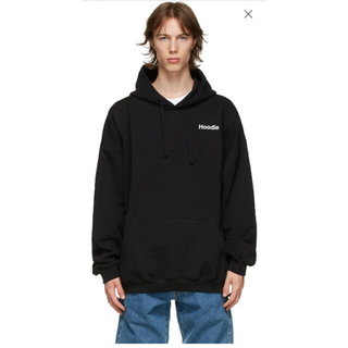 Balenciaga - vetements hoodie 辞書 xs