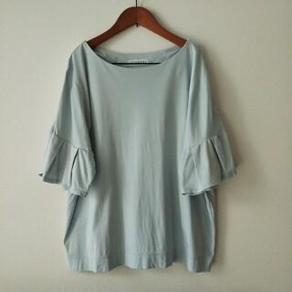 しまむら - しまむら フリル袖 Tシャツ M