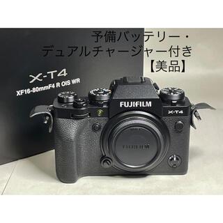 富士フイルム - 【美品】FUJIFILM X-T4 ボディ