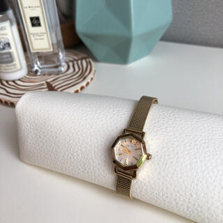 agete - agete アガット 腕時計 オクタゴン イエローゴールド