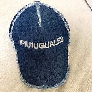 ウノピゥウノウグァーレトレ(1piu1uguale3)の1PIU1UGUALE3 キャップ 帽子(キャップ)