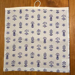アラビア(ARABIA)のkuovi キッチンタオル Tapestry  ブルー(収納/キッチン雑貨)