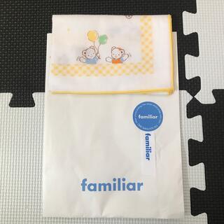 familiar - ファミリア familiar ガーゼハンカチ 新品 日本製
