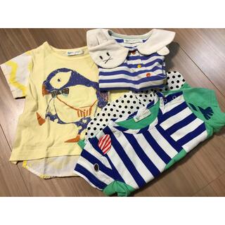 ナルミヤ インターナショナル(NARUMIYA INTERNATIONAL)のbabycheer ベイビーチアー Tシャツ80 3枚セット(Tシャツ)