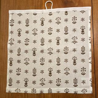 アラビア(ARABIA)のkuovi キッチンタオル Tapestry  ブラウン(収納/キッチン雑貨)
