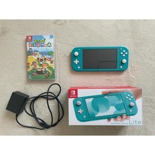 Nintendo Switch - スイッチライト あつまれどうぶつの森ソフト セット売り