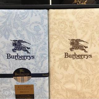 BURBERRY - 新品バーバリーのソフトコットンシーツ2枚組