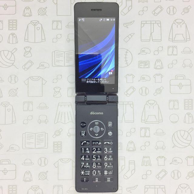 AQUOS(アクオス)の【B】SH-02L/AQUOS ケータイ/357776091841548 スマホ/家電/カメラのスマートフォン/携帯電話(スマートフォン本体)の商品写真