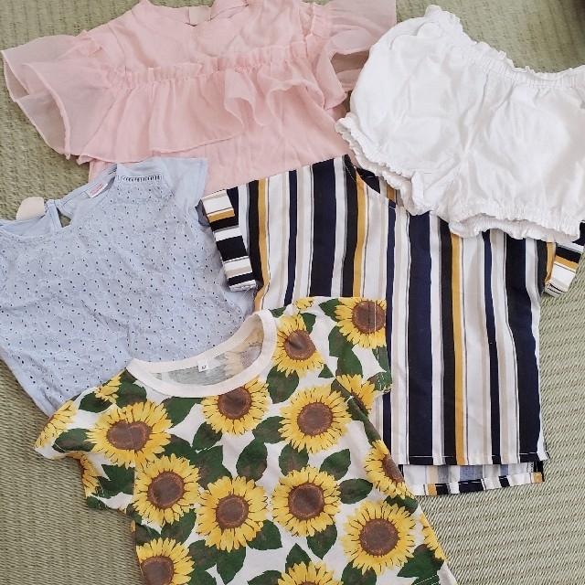 petit main(プティマイン)の女の子♡80サイズセット キッズ/ベビー/マタニティのベビー服(~85cm)(Tシャツ)の商品写真