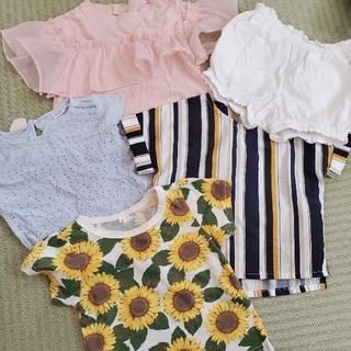 プティマイン(petit main)の女の子♡80サイズセット(Tシャツ)