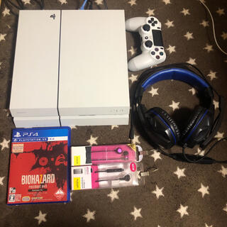 PlayStation4 - PS4 500GB cuh-1100a ホワイト