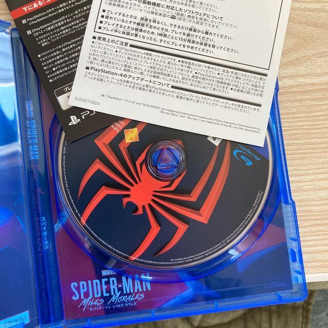 PlayStation4(プレイステーション4)の美品 Marvel's Spider-Man: Miles Morales エンタメ/ホビーのゲームソフト/ゲーム機本体(家庭用ゲームソフト)の商品写真