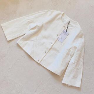 ANAYI - 未使用 ANAYI ホワイトショートジャケット