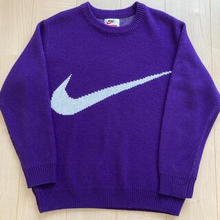 シュプリーム(Supreme)の2019ss supreme × NIKE Swoosh Sweater(ニット/セーター)
