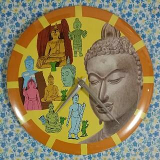 みうらじゅんさんデザイン 掛け時計《タイ~仏の国の輝き展・限定》(掛時計/柱時計)