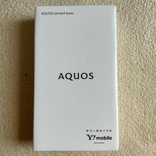 AQUOS - AQUOS sense4 basic ブラック SIMロック解除済み