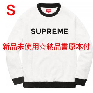 Supreme - 新品未使用Supreme Terry Crewneck White size S