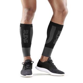 スキンズ(SKINS)の新品 XLサイズ スキンズ ふくらはぎサポーター・ふくらはぎタイツ・ゲイター 黒(ウェア)