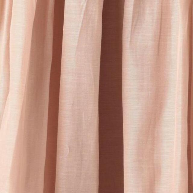 Drawer(ドゥロワー)の Drawer シルクコットンギャザースカート レディースのスカート(ロングスカート)の商品写真