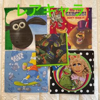 ディズニー(Disney)のレアキャラクター ペーパーナプキン  5枚組(その他)