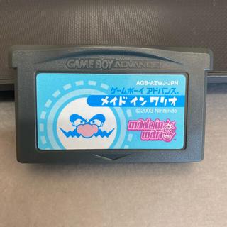ゲームボーイアドバンス(ゲームボーイアドバンス)のGBA メイドインワリオ(携帯用ゲームソフト)