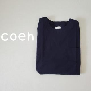 コーエン(coen)のcoen コーエン ショルダージップ プルオーバー カットソー(Tシャツ(半袖/袖なし))