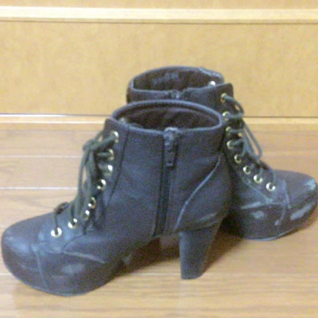 heather(ヘザー)の【格安】ヘザーブーツ【88%オフ】[送料込み]【秋冬春使える!!】 レディースの靴/シューズ(ブーツ)の商品写真