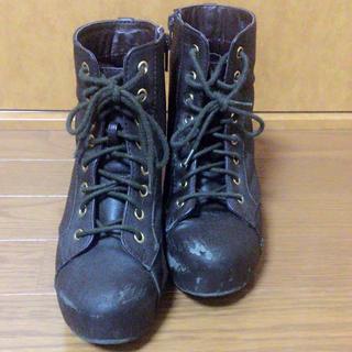 ヘザー(heather)の【格安】ヘザーブーツ【88%オフ】[送料込み]【秋冬春使える!!】(ブーツ)