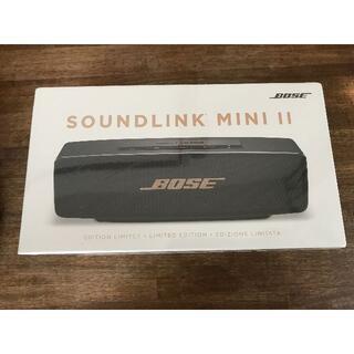 BOSE - 未開封 Bose soundlink スピーカー リミテッドエディション