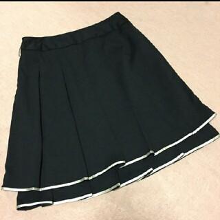 Rew de Rew - 【処分セール】美品 2段プリーツスカート 黒
