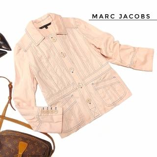 マークジェイコブス(MARC JACOBS)のマークジェイコブス ステッチ ジャケット 6  ピンク 個性的 レディース(その他)