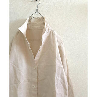 DEUXIEME CLASSE - Deuxieme Classe beige cottonlinen シャツ