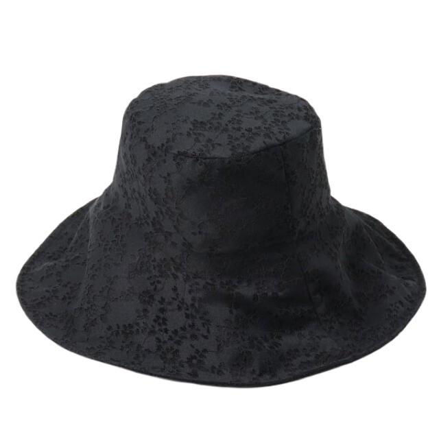 eimy istoire(エイミーイストワール)のeimy エイミー ソフトレースシアーバケットハット レディースの帽子(ハット)の商品写真