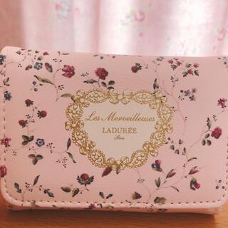 Les Merveilleuses LADUREE - ⭐️最終値下げ⭐️レ・メルヴェイユーズ ラデュレ 三つ折りミニ財布