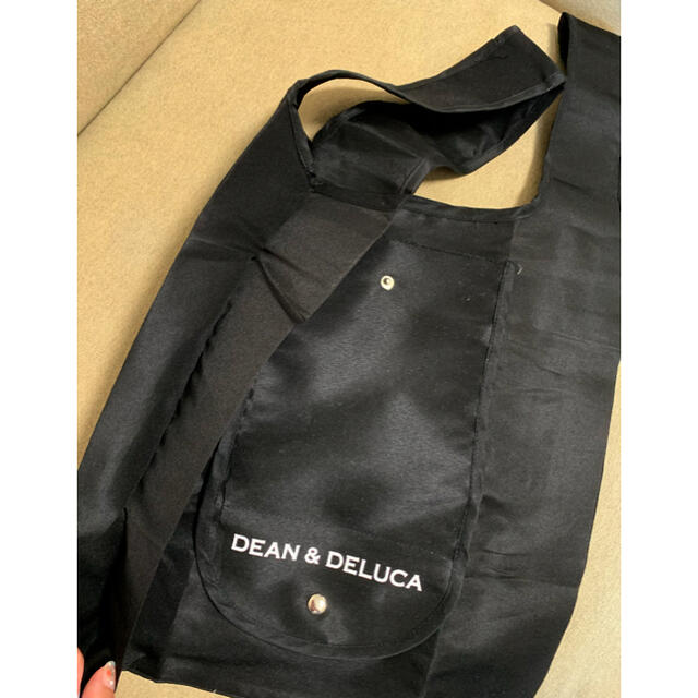 DEAN & DELUCA(ディーンアンドデルーカ)のDEAN&DELUCA  エコバック ブラック レディースのバッグ(エコバッグ)の商品写真