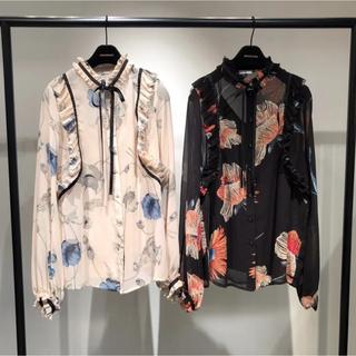 ダブルスタンダードクロージング(DOUBLE STANDARD CLOTHING)の DOUBLE STANDARD CLOTHING Sov.シフォンブラウス (シャツ/ブラウス(長袖/七分))