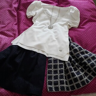 ナラカミーチェ(NARACAMICIE)のNARACAMICIE スカート2枚セット(ひざ丈スカート)