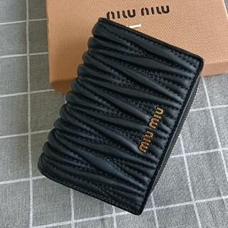 miumiu - ☆人気品☆ミュウミュウ 折り財布 コインケース