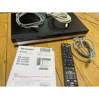アクオス(AQUOS)の送料込 AQUOSレコーダー 4K Ultra HD 1TB BD-UT1200(ブルーレイレコーダー)