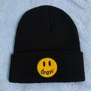 Drew ニット帽 黒 ブラック