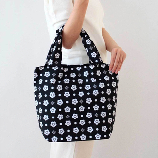 MARY QUANT - 【未開封商品】マリークワント  エコバッグ マイバッグ  黒  (大) 新品