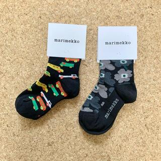マリメッコ(marimekko)の【新品】マリメッコ  子供靴下(靴下/タイツ)