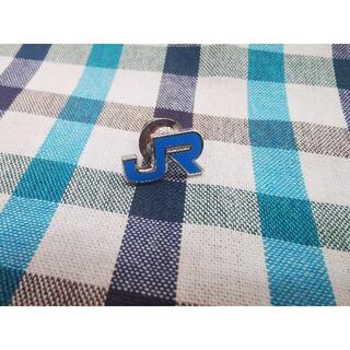 JR四国【社章 純銀刻印入】ピンバッジ 鉄道グッズ