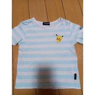 kladskap - クレードスコープ☆ポケモンタイムボーダーピカチュウ半袖Tシャツ100