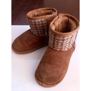 シマムラ(しまむら)のクロッシー キッズ ブーツ 18cm(ブーツ)