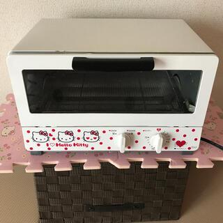 ハローキティ(ハローキティ)の🍎キティちゃんオーブントースター🥰マッキィ様専用❣️(調理機器)