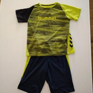 ヒュンメル(hummel)の子供服 150サイズ 半袖Tシャツ 上下セット ハーフパンツ(Tシャツ/カットソー)