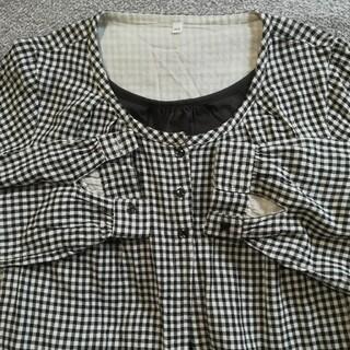 ムジルシリョウヒン(MUJI (無印良品))のマタニティ授乳服チュニック(マタニティワンピース)