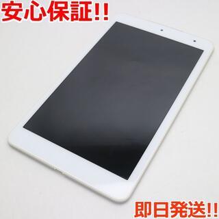 キョウセラ(京セラ)の超美品 KYT32 Qua tab QZ8 オフホワイト (タブレット)