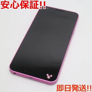 ディズニー(Disney)の良品中古 DM-02H Disney Mobile ピンク (スマートフォン本体)